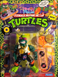 Rappin' Mike - The Record Rappin' Reptile! | Teenage Mutant Ninja Turtles (Rock'n Rollin) - Playmates Toys 1988 image