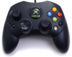 Геймпад S чёрный (б/у) для Microsoft XBOX