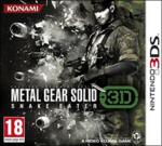 Metal Gear Solid 3D: Snake Eater (б/у) для Nintendo 3DS
