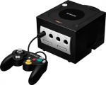 Nintendo GameCube (DOL-001) (Black) (PAL) (Boxed) image