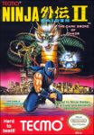 Ninja Gaiden II: The Dark Sword of Chaos (NES) (NTSC-U) cover