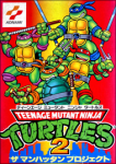 Teenage Mutant Ninja Turtles III: The Manhattan Project / Teenage Mutant Ninja Turtles 2: The Manhattan Project (б/у) для Famicom