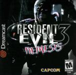 Resident Evil 3: Nemesis (Sega Dreamcast) (NTSC-U) cover