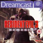 Resident Evil 3: Nemesis (Sega Dreamcast) (PAL) cover