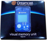 Visual Memory Unit синий для Sega Dreamcast