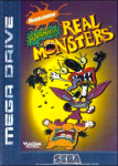 Aaahh!!! Real Monsters (Sega Mega Drive) (PAL) cover