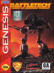 Battletech: A Game of Armored Combat (Sega Genesis) (NTSC-U) cover
