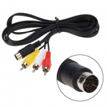Композитный AV кабель для Sega Mega Drive 2 / Genesis 2-3