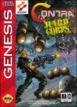 Contra: Hard Corps (Sega Genesis) (NTSC-U) cover