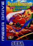 Desert Demolition Starring Road Runner and Wile E. Coyote (б/у) для Sega Mega Drive