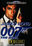 James Bond 007: The Duel (Sega Mega Drive) (PAL) cover