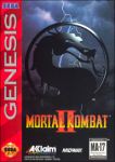 Mortal Kombat II (Sega Genesis) (NTSC-U) cover