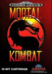 Mortal Kombat (Sega Mega Drive) (PAL) cover