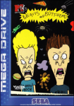 MTV's Beavis and Butt-head (Sega Mega Drive) (PAL) cover