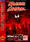 Spider-Man and Venom: Maximum Carnage (red cartridge) (Sega Genesis) (NTSC-U) cover