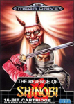 The Revenge of Shinobi (Sega Mega Drive) (PAL) cover