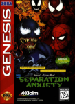 Venom - Spider-Man: Separation Anxiety (Sega Genesis) (NTSC-U) cover