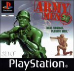 Army Men 3D (Sony PlayStation 1) (PAL) cover