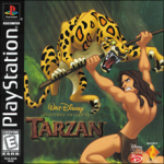 Walt Disney Pictures Presents: Tarzan (б/у) для Sony PlayStation 1