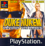 Duke Nukem: Land of the Babes (Sony PlayStation 1) (PAL) cover