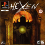 Hexen (Sony PlayStation 1) (PAL) cover