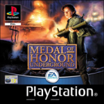 Medal of Honor Underground (Sony PlayStation 1) (PAL) cover
