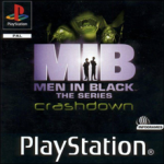 Men in Black - The Series: Crashdown (Sony PlayStation 1) (PAL) cover