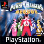 Power Rangers Lightspeed Rescue (б/у) для Sony PlayStation 1