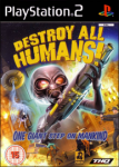 Destroy All Humans! (Sony PlayStation 2) (PAL) cover