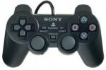 Геймпад черный для Sony PlayStation 2 - оригинал (б/у)