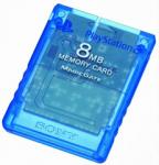 Карта памяти 8MB - Crystal Blue (б/у) для Sony PlayStation 2