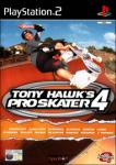 Tony Hawk's Pro Skater 4 (Sony PlayStation 2) (PAL) cover