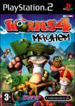 Worms 4: Mayhem (Sony PlayStation 2) (PAL) cover